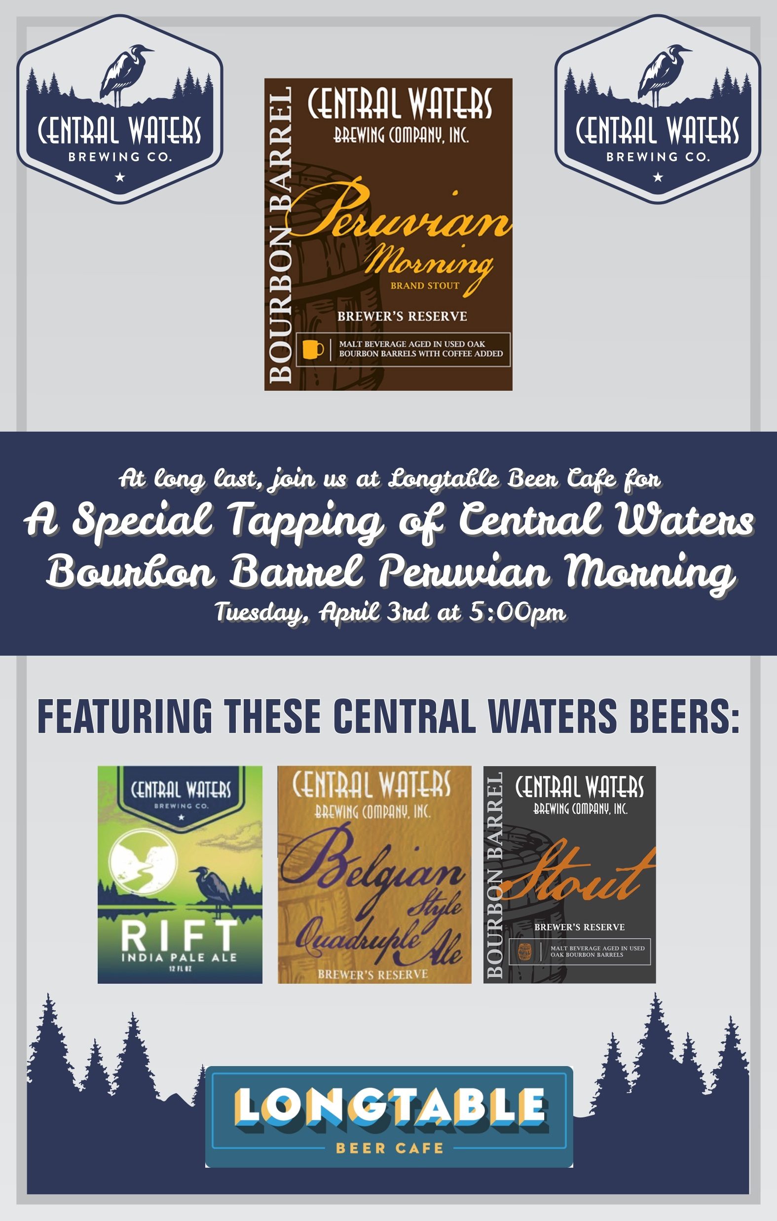 Central Waters Barrel Aged Night