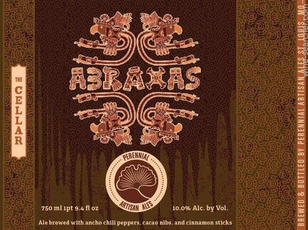 Perennial Artisan Ales Abraxas and Distant Land Tappings