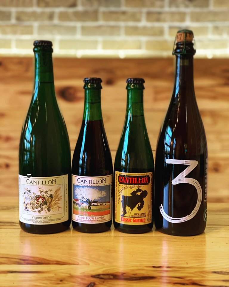 Longtable Beer Cafe 2nd Anniversary – Belgian Lambic Pouring