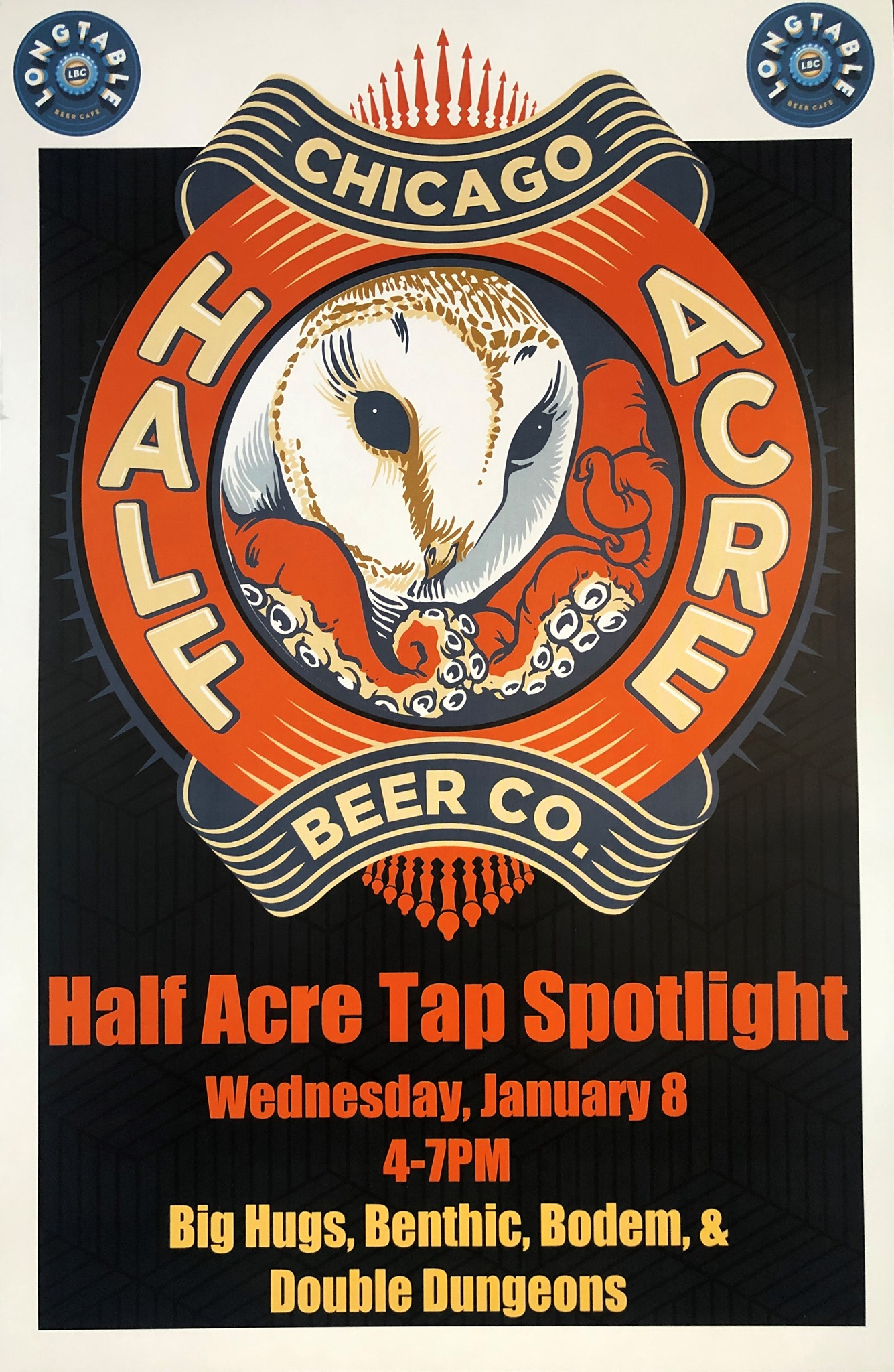 Half Acre Beer Company Tap Spotlight – Let's Start 2020 Right!