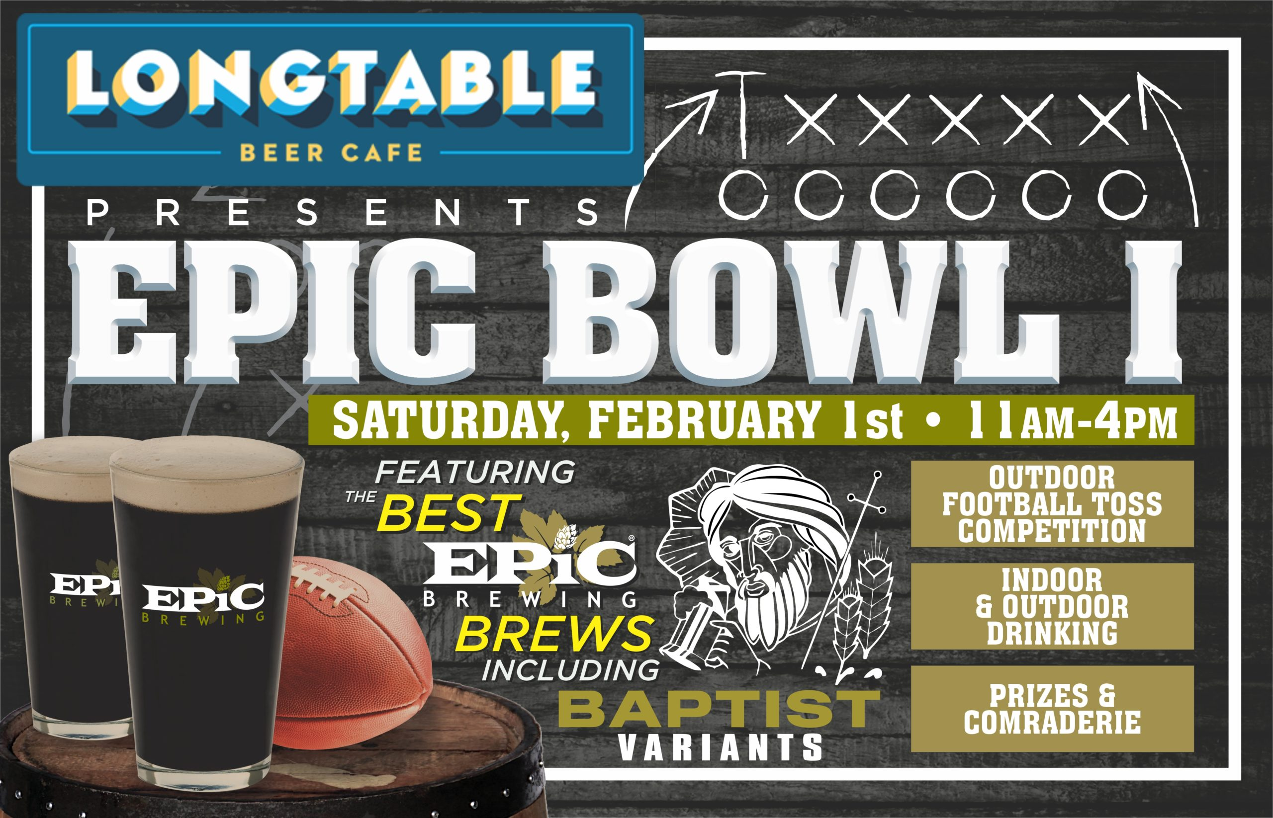 Epic Bowl I – Winter Party on the Patio