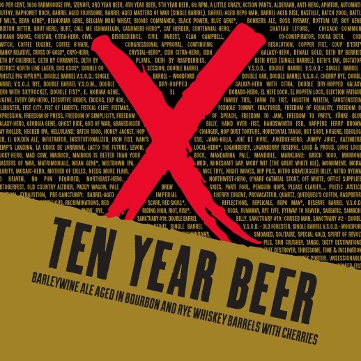 Revolution Brewing Special Tappings – Ten Year and Boss Jacket!