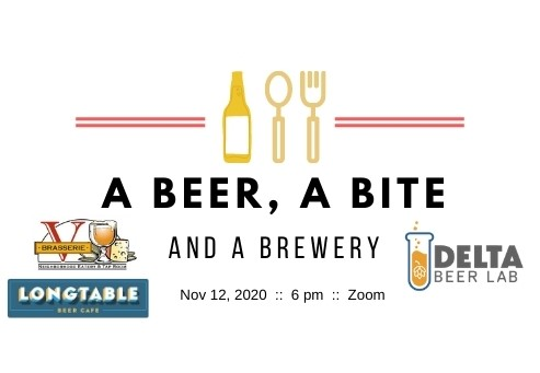 A Beer, A Bite and A Brewery – Delta Beer Lab