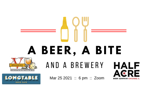 A Beer, A Bite and A Brewery – Half Acre Beer Co.